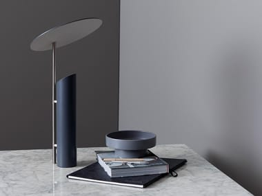 Steel table lamp REFLECT