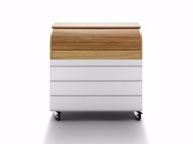 Secretary desk with 4 drawers REFLEX SECRÉTAIRE
