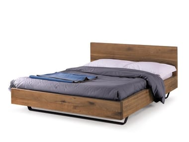 Wooden double bed REST | Wooden bed