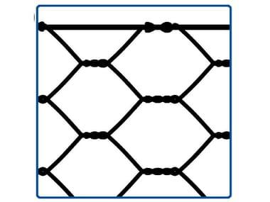 Rete zincata a doppia torsione RETE PER CINGHIALI | 80 x 100