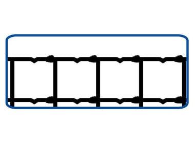 Rete annodata zincata a maglie differenziate RETE PER PECORE | EXTRA PESANTE