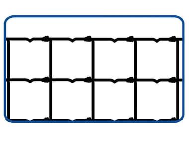 Rete annodata zincata a maglie differenziate RETE PER PECORE | PESANTE 2.2 / 3.0
