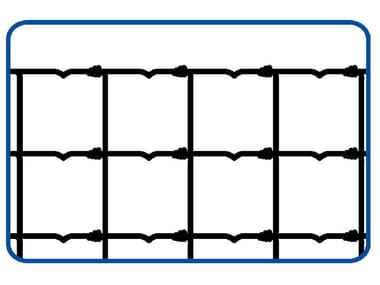 Rete annodata zincata a maglie differenziate RETE PER PECORE | PESANTE 2.5 / 3.0