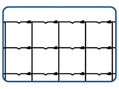 Rete annodata zincata a maglie differenziate RETE PER PECORE | STANDARD