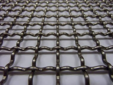 Nets for industrial use PRE-CRIMPED WIRE MESH