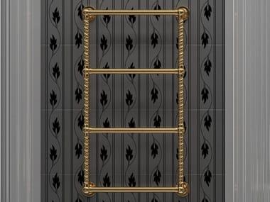 Wall-mounted brass radiator RETRÒ I
