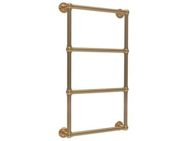 Wall-mounted hot-water brass radiator RETRÒ II
