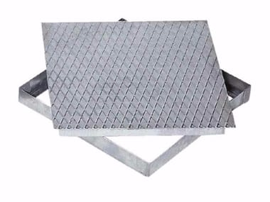 Manhole cover and grille for plumbing and drainage system RETRACTABLE COVER