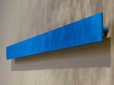 Porta asciugamani a barra in alluminio verniciato a polvere RETTA