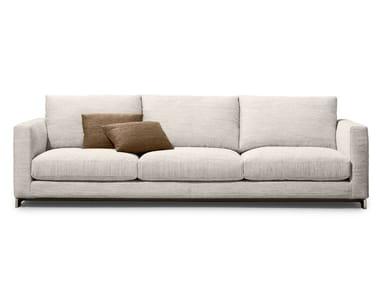 Recliner fabric sofa REVERSI | Sofa
