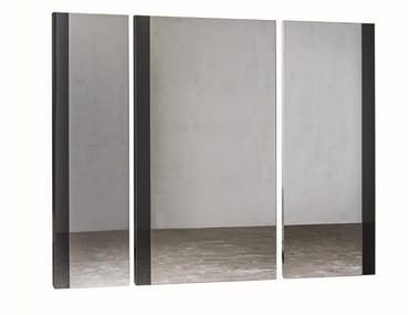 Rectangular wall-mounted mirror REVERSO