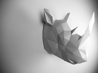 Paper wall decor item DEER By Papertrophy