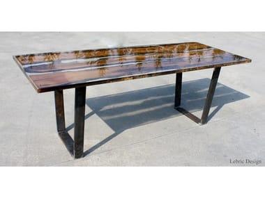 Rectangular dining table RIALTO