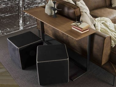 Rectangular MDF high side table for living room RIALTO