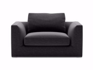 Fabric armchair with armrests RICHARD | Armchair