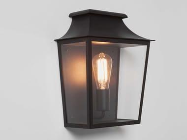 Lampada da parete per esterno in acciaio e vetro con dimmer RICHMOND   Lampada da parete per esterno