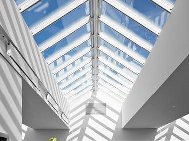 Finestra da tetto in acciaio e vetro RIDGELIGHT 25-40°