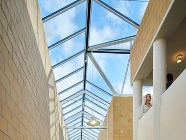 Finestra da tetto in acciaio e vetro DUAL PITCHED SOLUTIONS