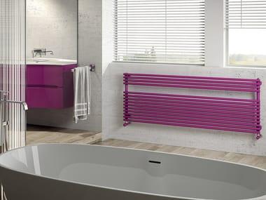 Horizontal steel towel warmer RIGO