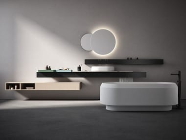 Bathroom furnishing system RIGO