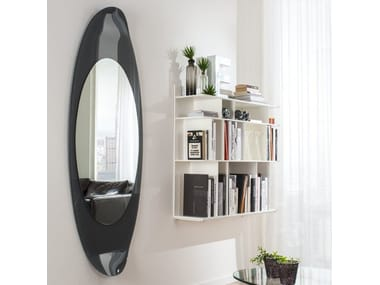 Wall-mounted framed mirror RIMINI