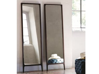 Freestanding mirror with wooden frame RIMMEL