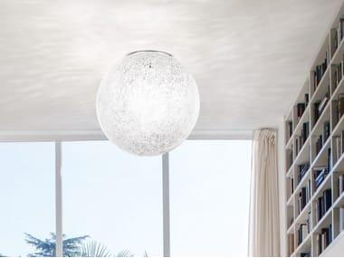 Blown glass ceiling light RINA PL