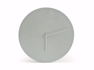 Wall-mounted ceramic clock RING