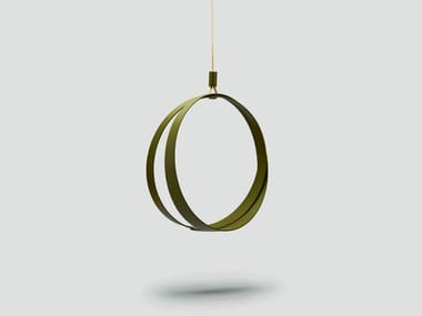 Metal garden hanging chair RING-O