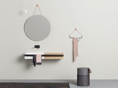 Espelho redondo de parede para banheiro RING | Espelho
