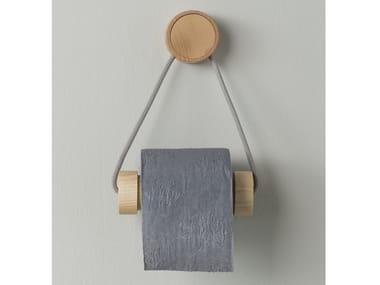 Portarotolo in legno RING   Portarotolo