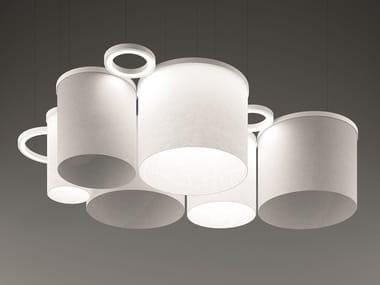 Direct light pendant lamp RIPPLE