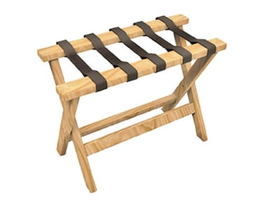 Low folding solid wood stool RIPS