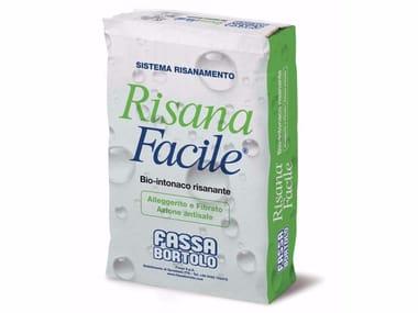 Bio-Intonaco alleggerito fibrorinforzato RISANAFACILE®