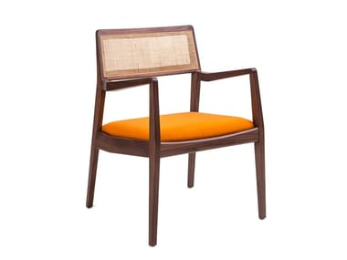 Chair with armrests RISOM C140 (1955)