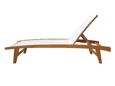 Wooden sun lounger RIVIERA | Sun lounger