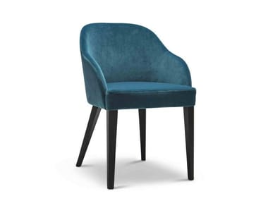 Upholstered fabric chair ROALD 250