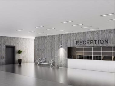 Rock wool ceiling tiles Rockfon Blanka®