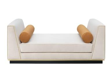 Upholstered velvet bench ROCKHAMPTON | Day bed