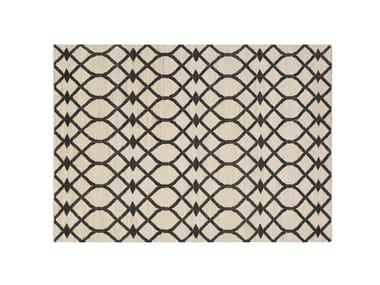 Rectangular rug with geometric shapes RODAS