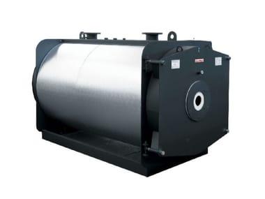 Caldaia a basamento pressurizzata RODI DUAL HR 1400-3500