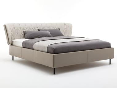 Leather double bed ROLF BENZ 1600 SONO