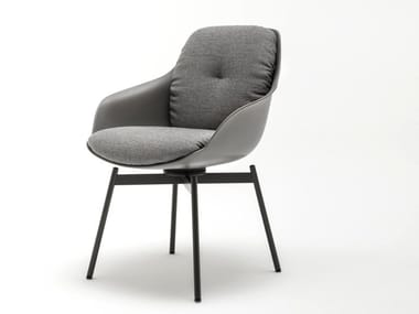 Chair with armrests ROLF BENZ 600 | Chair