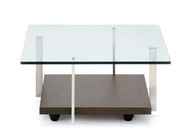 tavolini in vetro con ruote archiproducts. Black Bedroom Furniture Sets. Home Design Ideas