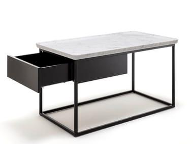 Tavolino da caffè rettangolare con vano contenitore ROLF BENZ 934 | Tavolino con vano contenitore