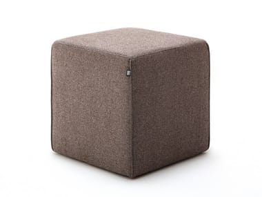 Square fabric pouf ROLF BENZ 950