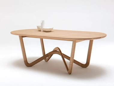 Solid wood table ROLF BENZ 988