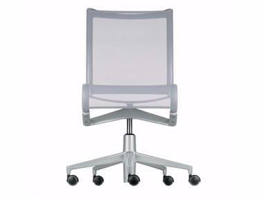 Sedie Da Ufficio Senza Braccioli : Sedia ufficio operativa ad altezza regolabile girevole con ruote