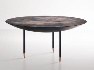 Tavolo rotondo in metallo ROMA