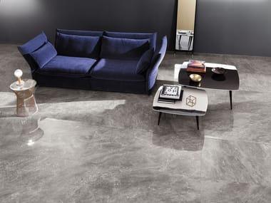 Revêtement de sol en grès cérame effet marbre ROMA DIAMOND | Revêtement de sol